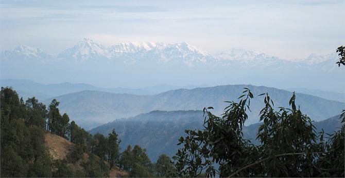 Pohjois-Intia 2010: maisemat