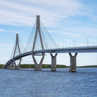 Raippaluodon silta on Suomen pisin (1045 m)
