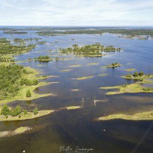 Merenkurkussa ovat Suomen komeimmat de geer -moreenit