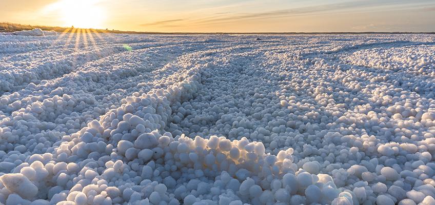 Kalajoen jääpallomeri